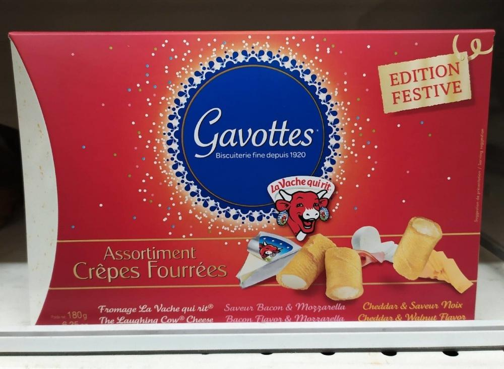 Gavottes Assortment of Filled Crepes 180g