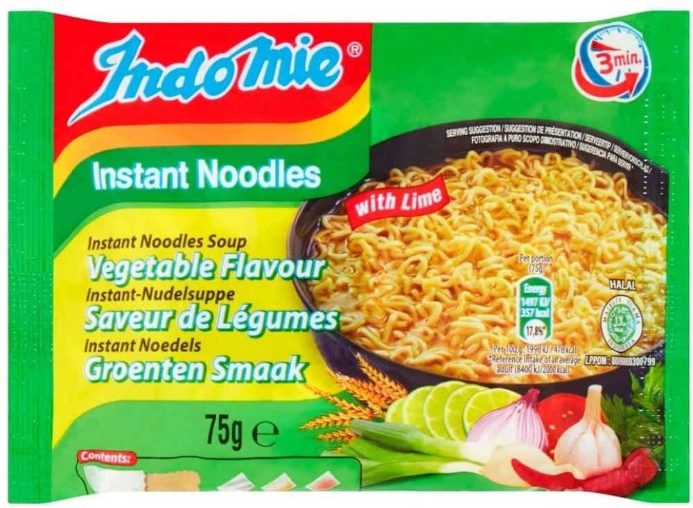 Indomie Vegetable Flavour Instant Noodles 75g