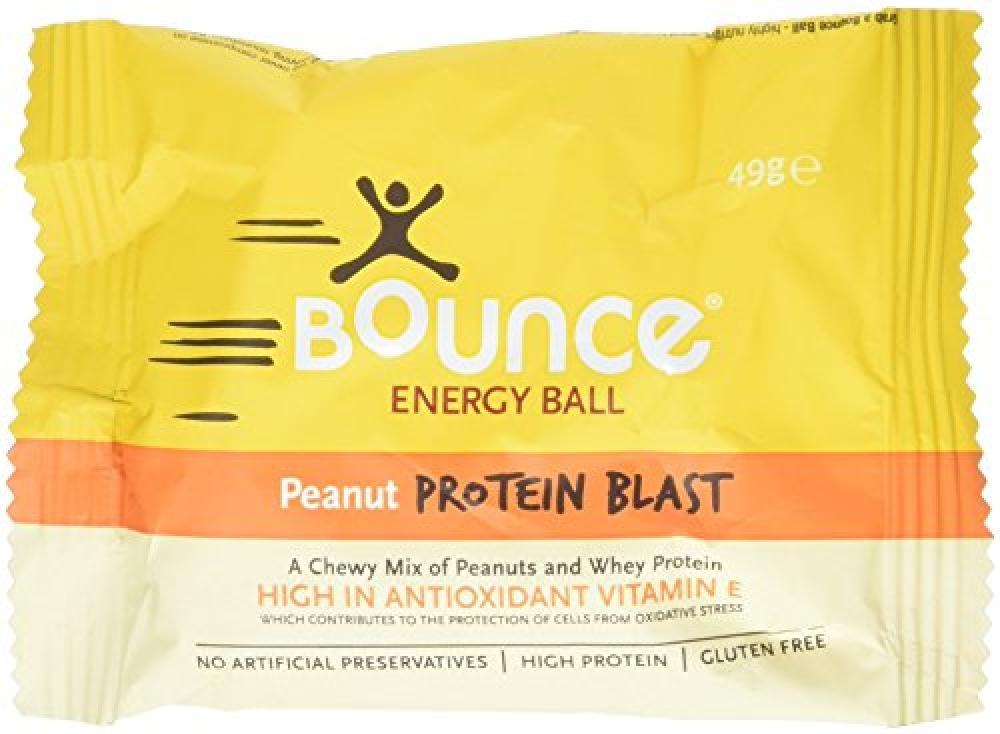 SALE  Bounce Energy Protein Ball Peanut Flavour 49g