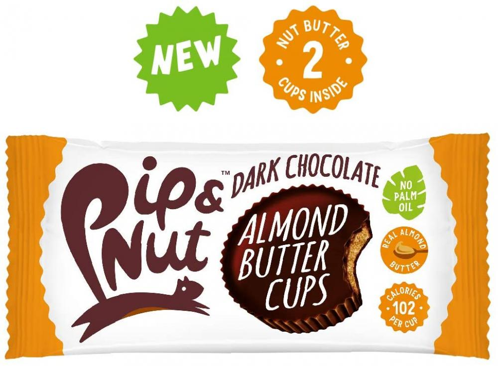 Pip and Nut Dark Chocolate Almond Butter Cup 34g