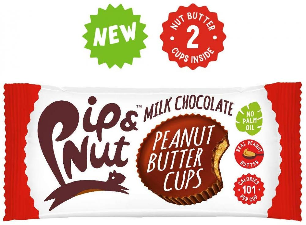 Pip and Nut Milk Chocolate Peanut Butter Cups 34g