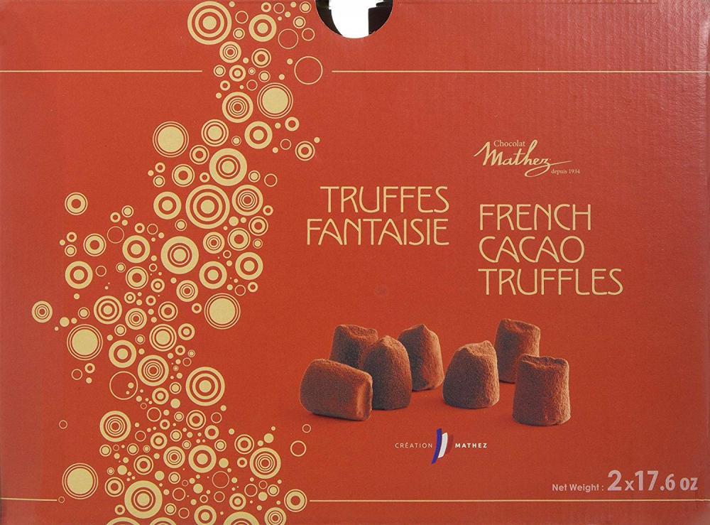 Mathez French Cacao Truffles 500g x 2