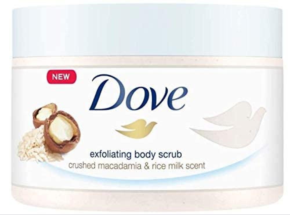 Dove Exfoliating Body Scrub 225ml