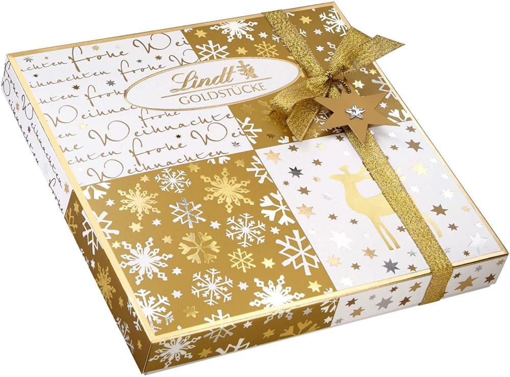 Lindt Goldstucke Pralines Box 180 g