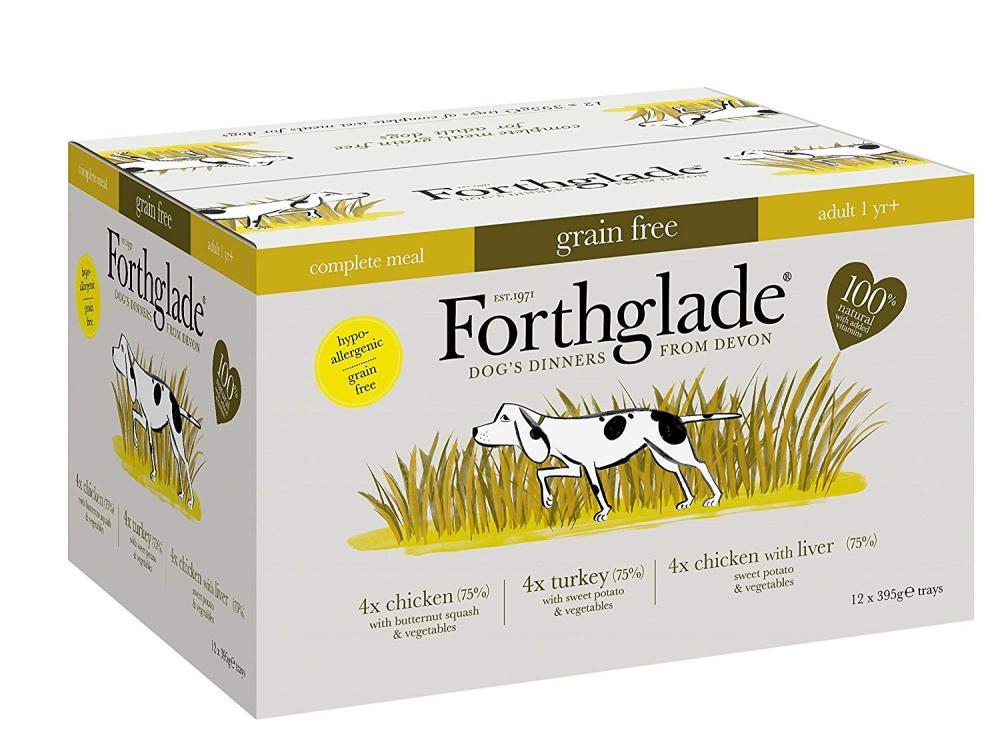 Forthglade Complete Wet Dog Food LUCKY DIP 395 g