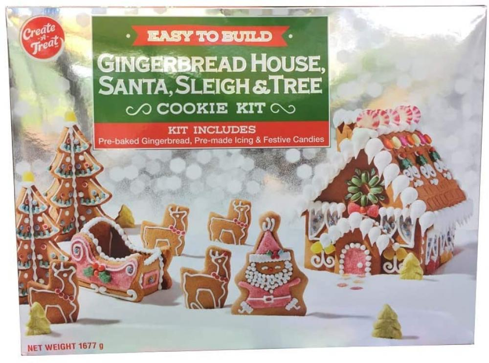 Create a Treat Gingerbread House Kit 1677g