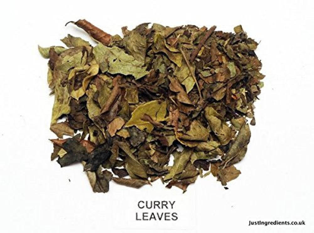 JustIngredients Organic Curry Leaves 2500g
