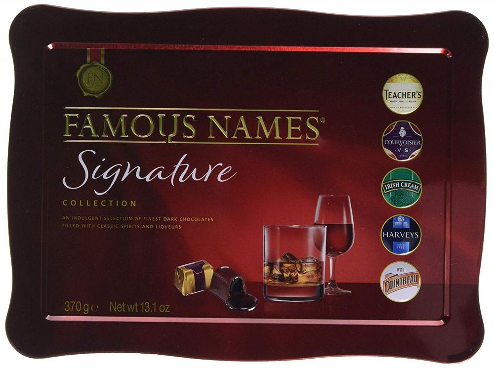 Famous Names Signature Collection 370g Damaged Box