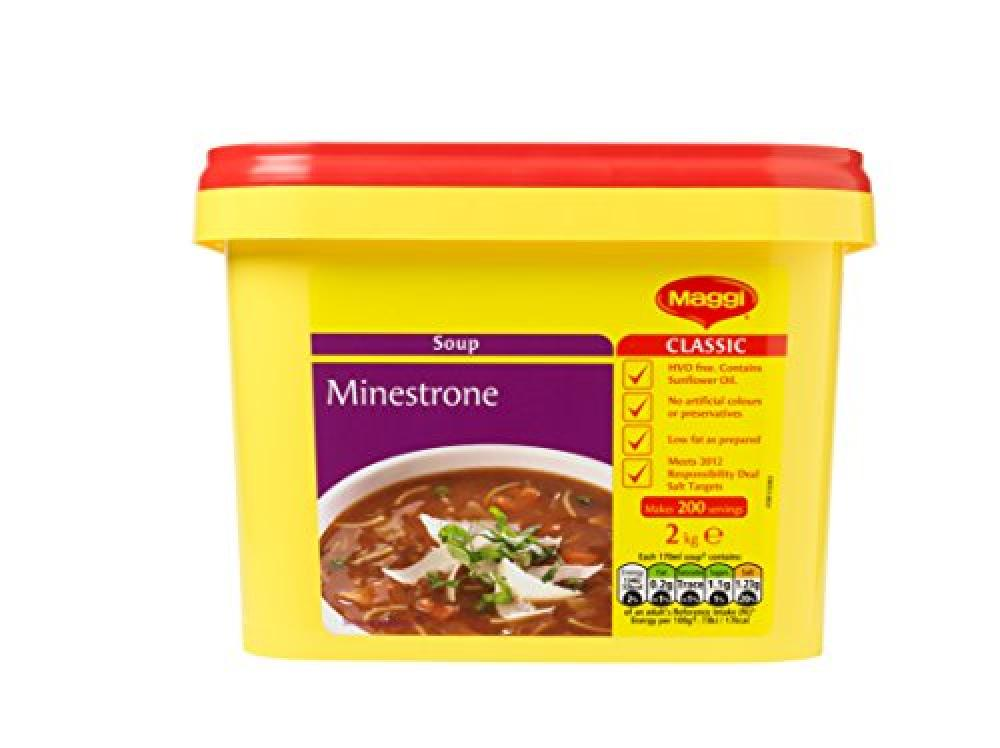 WEEKLY DEAL  Maggi Minestrone Simmer Soup 2 kg