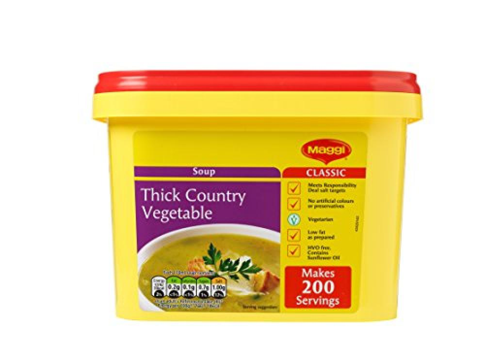 WEEKLY DEAL  Maggi Thick Country Vegetable Simmer Soup 2 kg