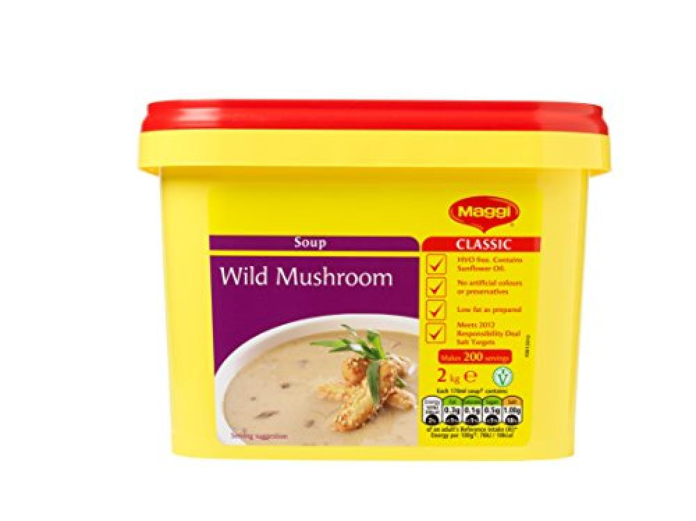 Maggi Wild Mushroom Soup 2 kg