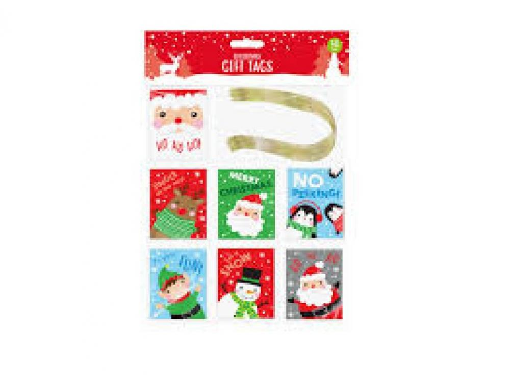 Christmas Gift Tags 50 Pack