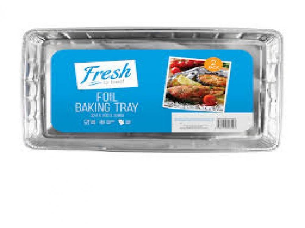 Fresh Is Best Foil Baking Tray 2 Pack