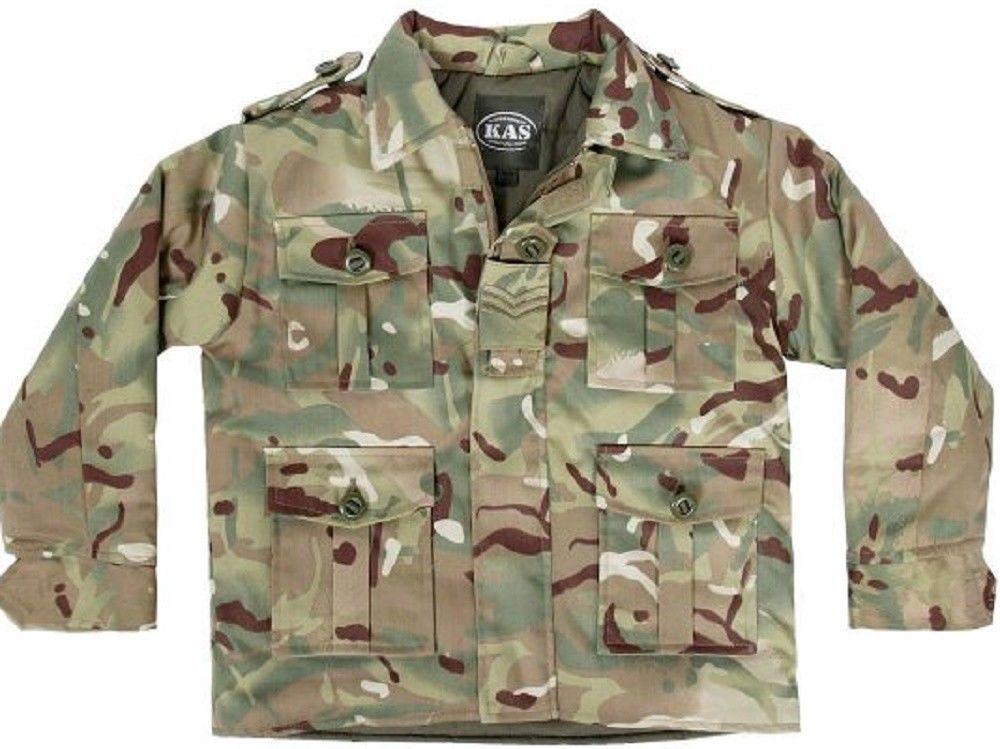 Kas Age 5-6 Army Print Jacket