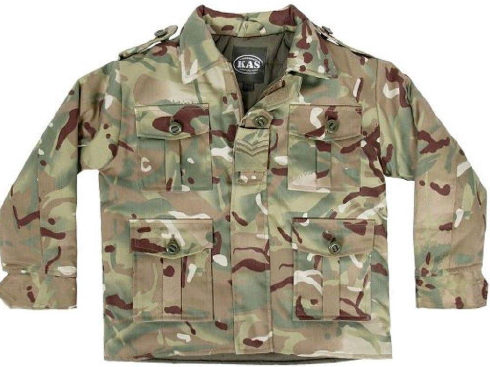 Kas Age 7-8 Army Jacket