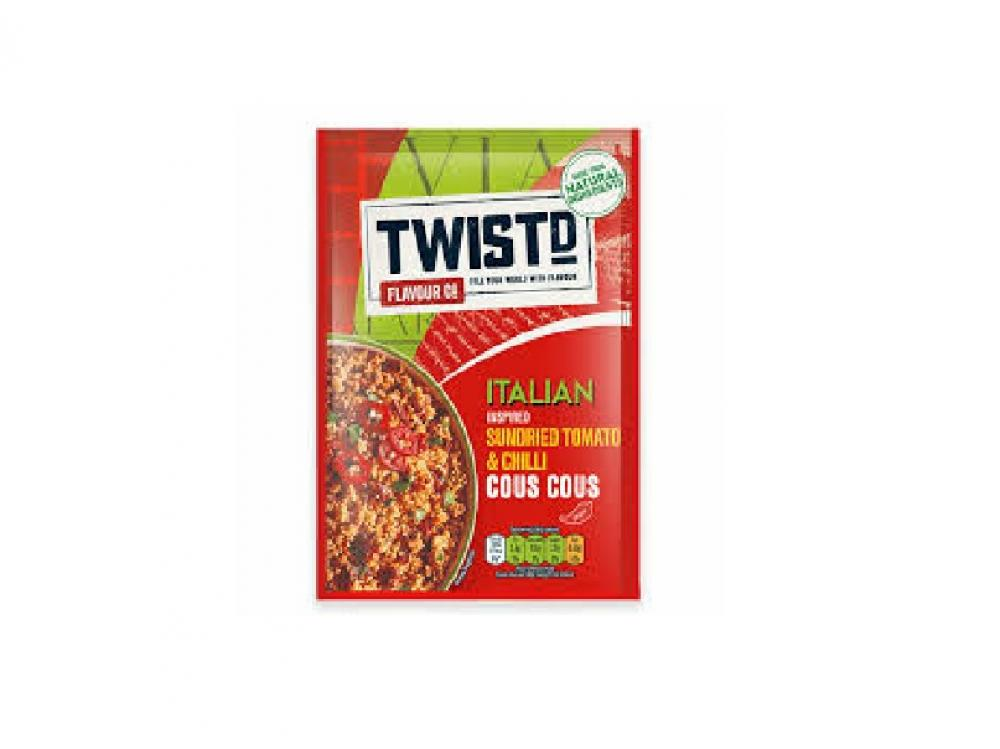 Twistd Sundried and Tomato Cous Cous 100g