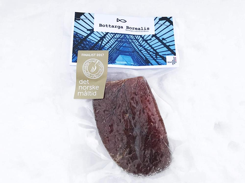 Bottarga Borealis Norwegian Cod Roe Salted and Dried 106 g