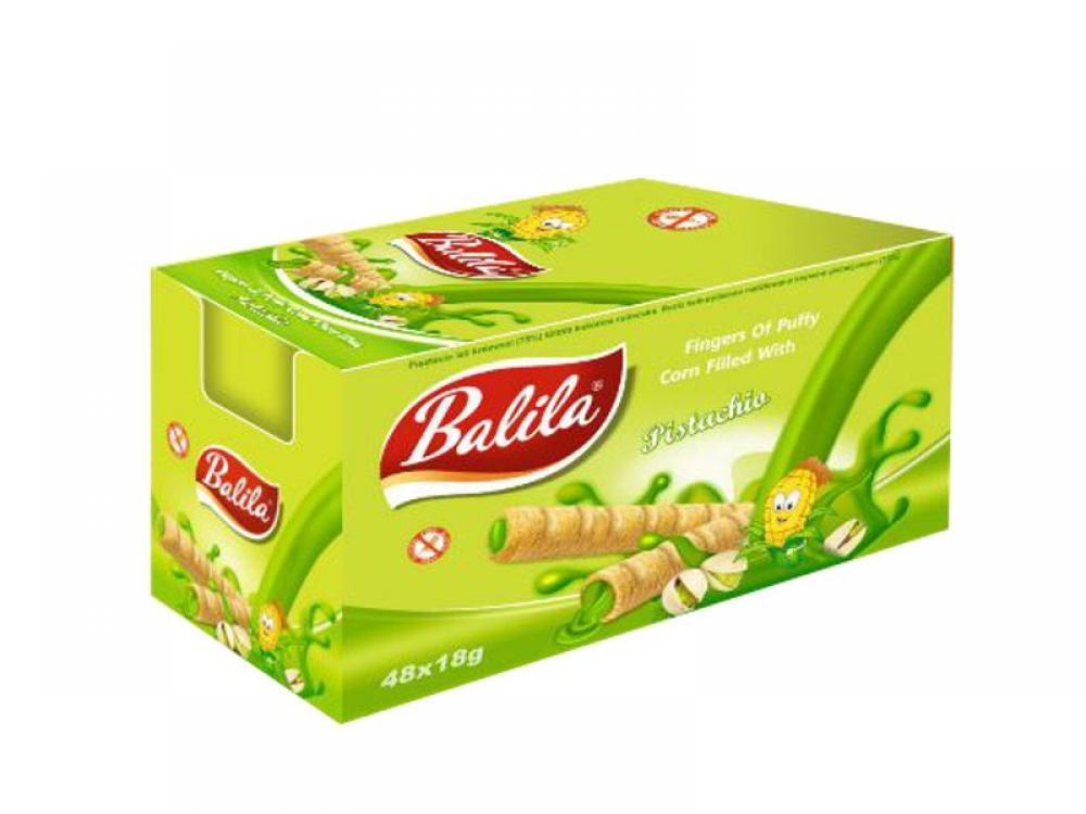 CASE PRICE  Balila Pistachio Cream Bar 15g x 48