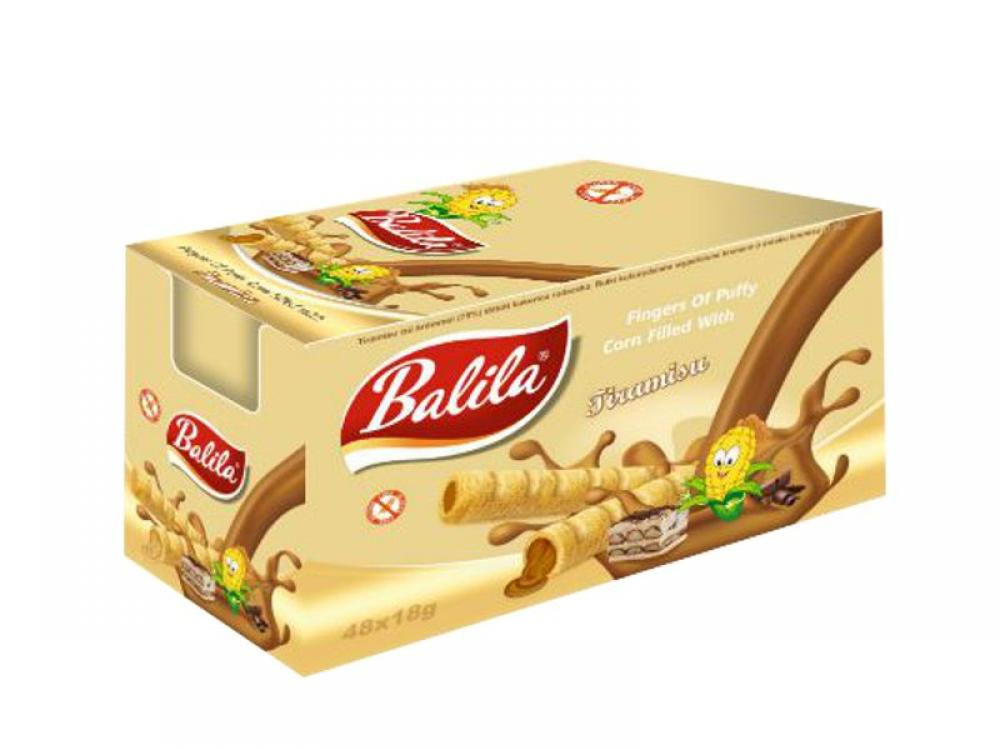 CASE PRICE  Balila Tiramisu Cream Bar 15g x 48