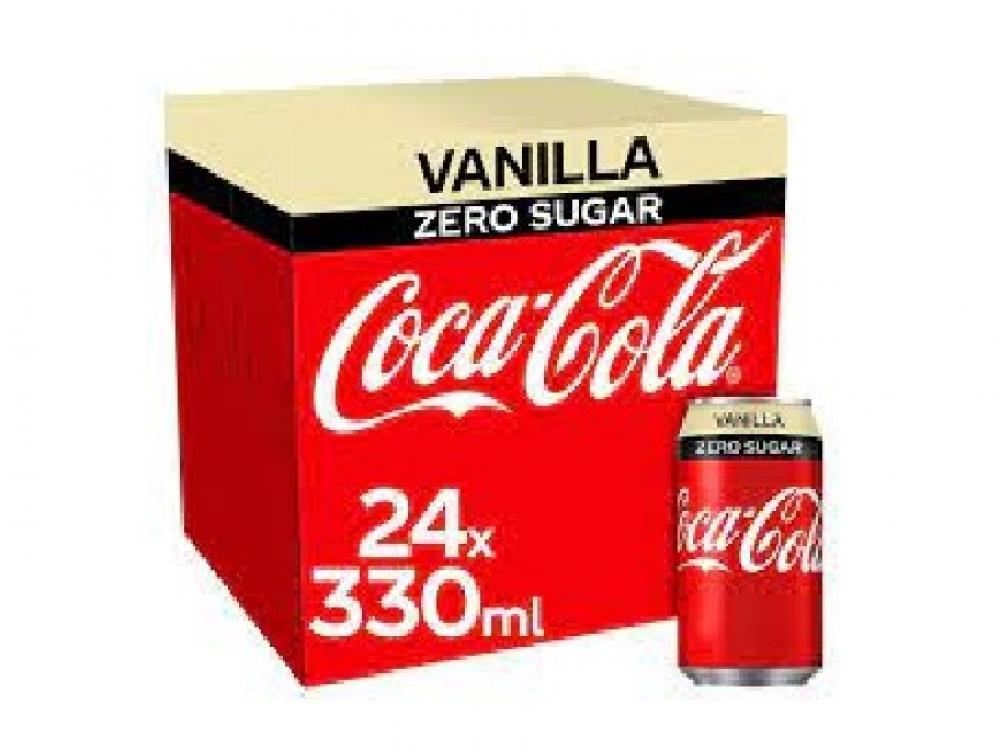 Coca Cola Zero Vanilla 24 x 330ml