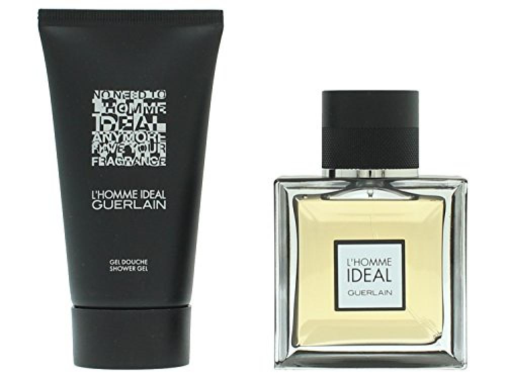 Guerlain LHomme Ideal Set for Men contains Eau de Parfum Spray 50 ml and Showergel 75 ml