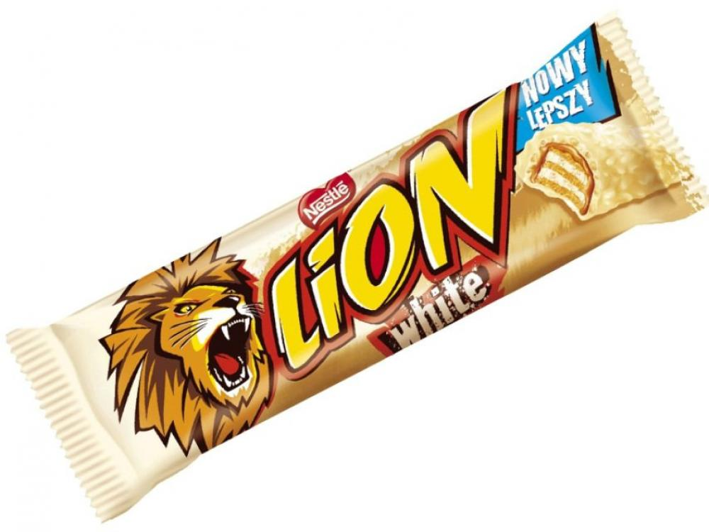 Lion Limited Edition White Chocolate Bar 42g