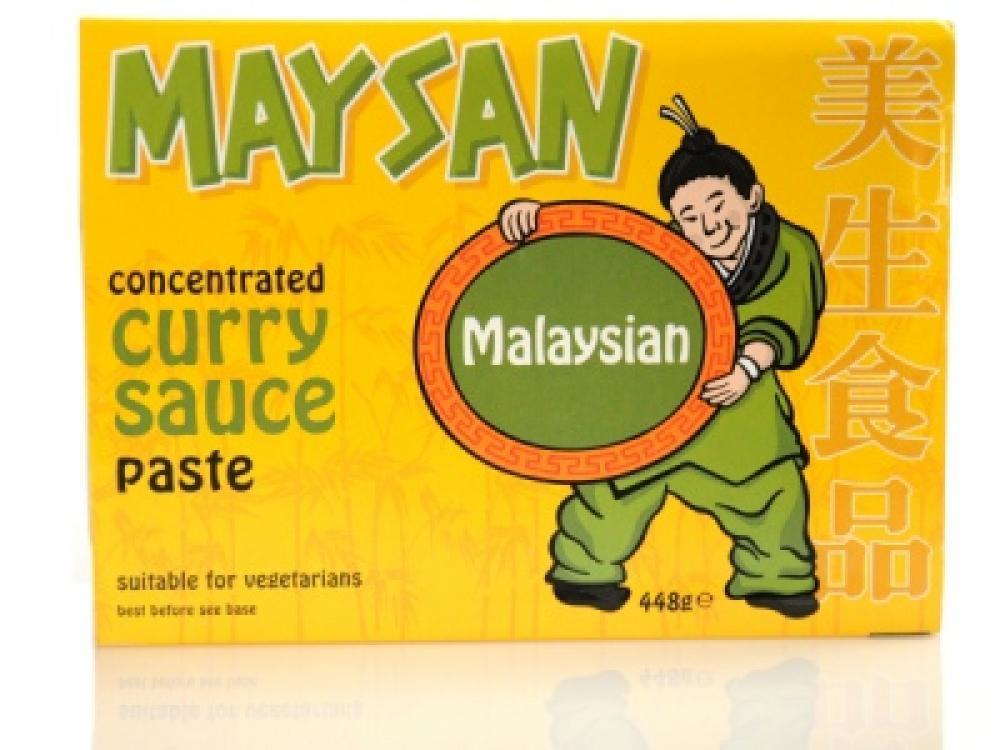Maysan Concentrated Curry Sauce Paste Malaysian 448g