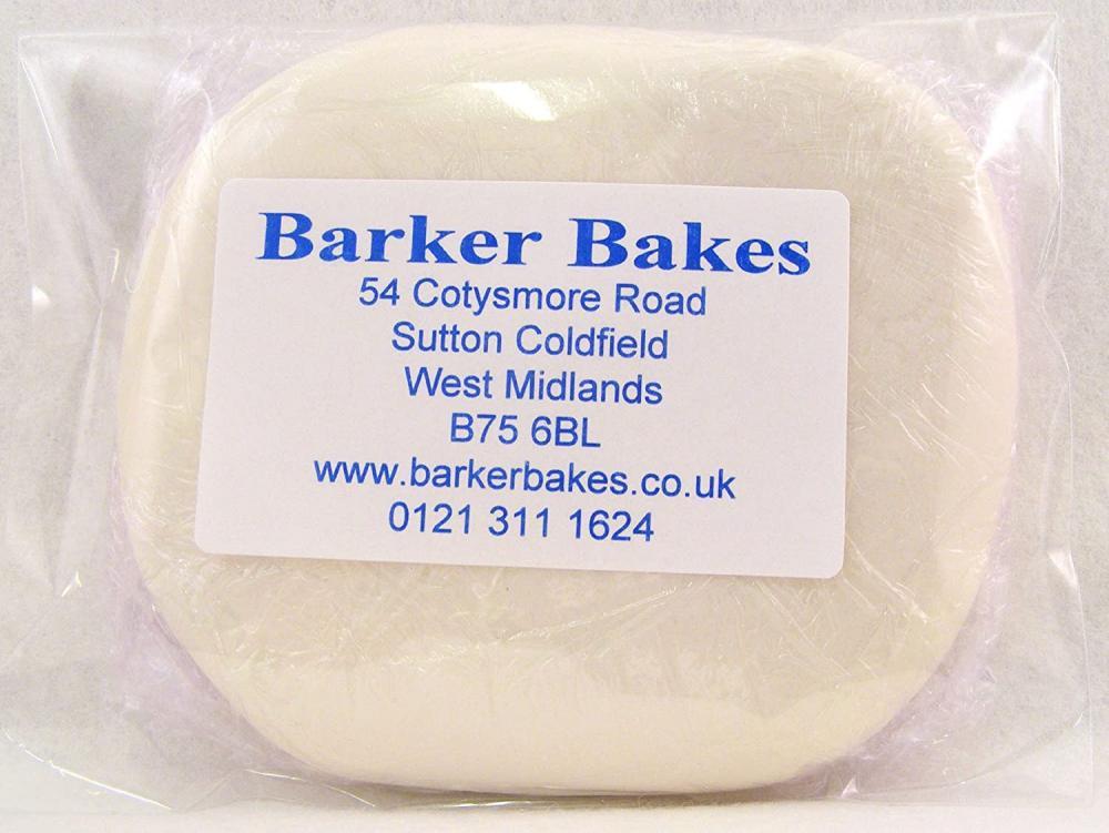Barker Bakes Gelatine Free Ivory Flowerpaste for Cake Decorating and Sugar Flowers 100g