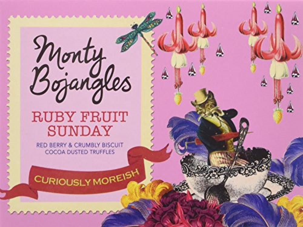 Monty Bojangles Ruby Fruit Sunday Truffles 150g
