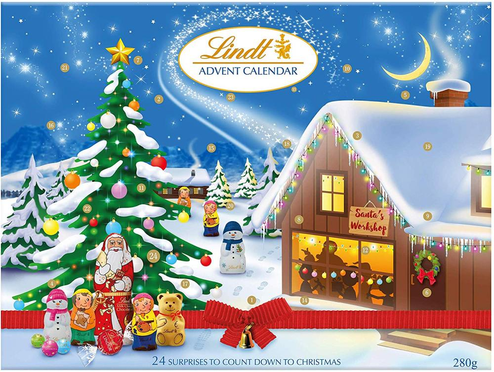 Lindt Advent Calendar Milk Chocolate 280g