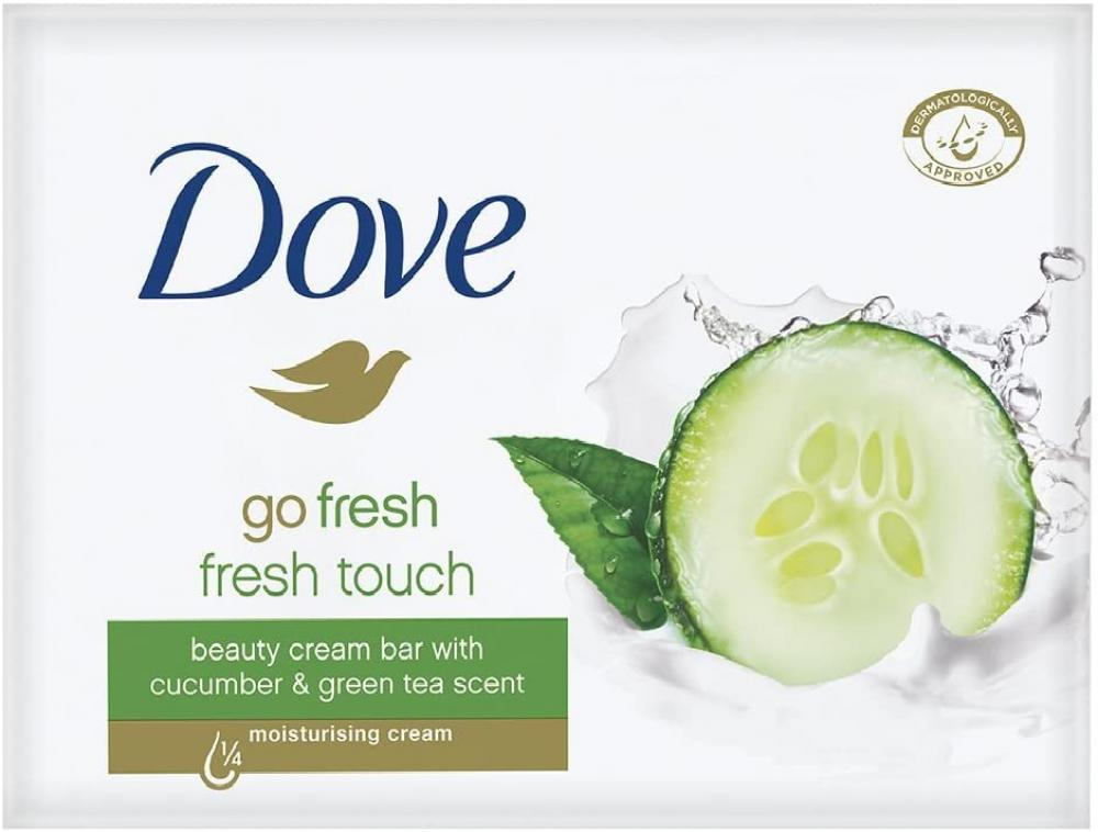 Dove Go Fresh Fresh Touch Cucumber and Green Tea Scent - Bar Soap 2 Bars 2 x 100g