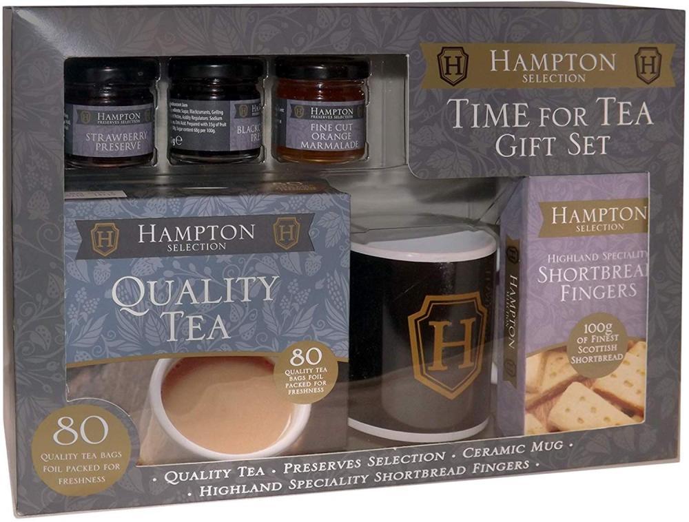 Hampton Selection Luxury Time for Tea Gift Set