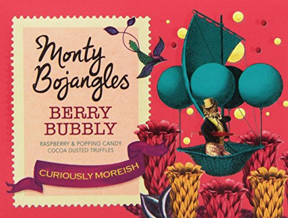 Monty Bojangles Berry Bubbly Curiously Moreish 150g
