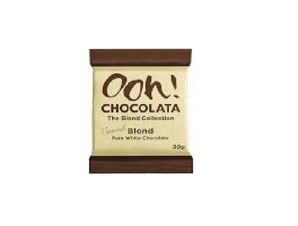 Ooh Chocolata Pure White Chocolate 50g