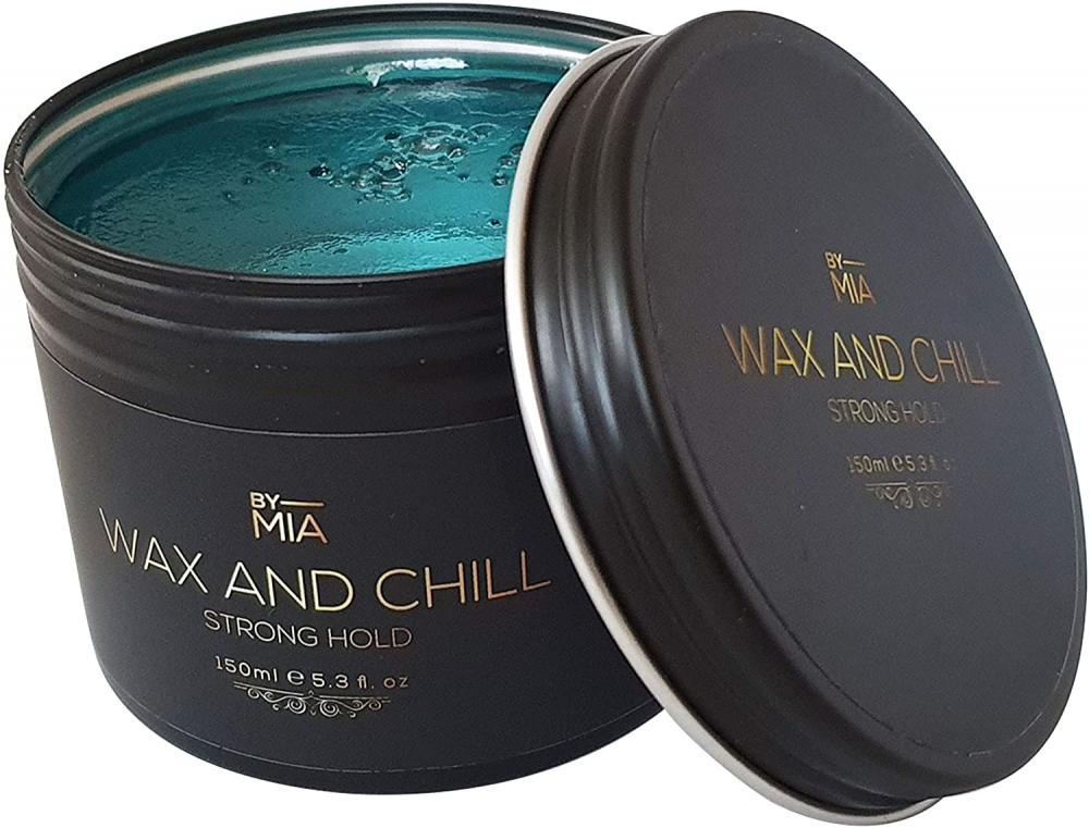 By Mia Wax and Chill Strong Hold Hair Styling Wax 150ml