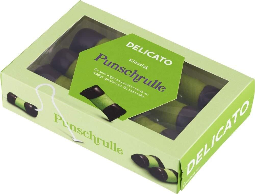 Delicato Punschrulle Marzipan Pastry 240g Damaged Box