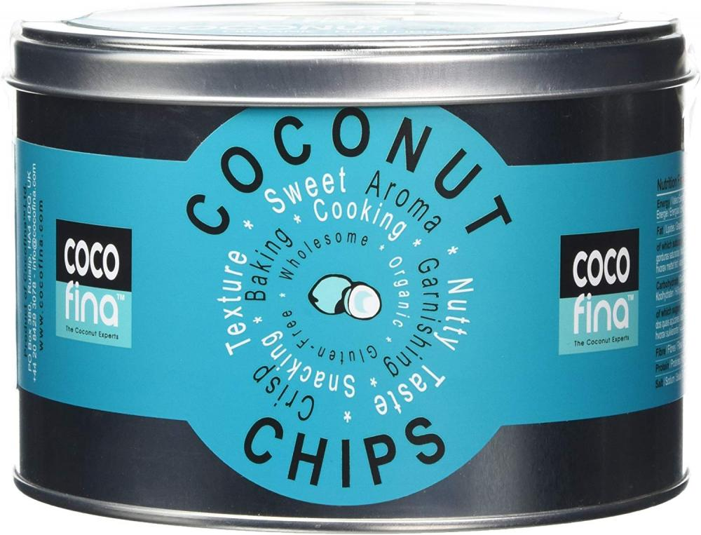 Cocofina Organic Unsweetened Coconut Chips 250g