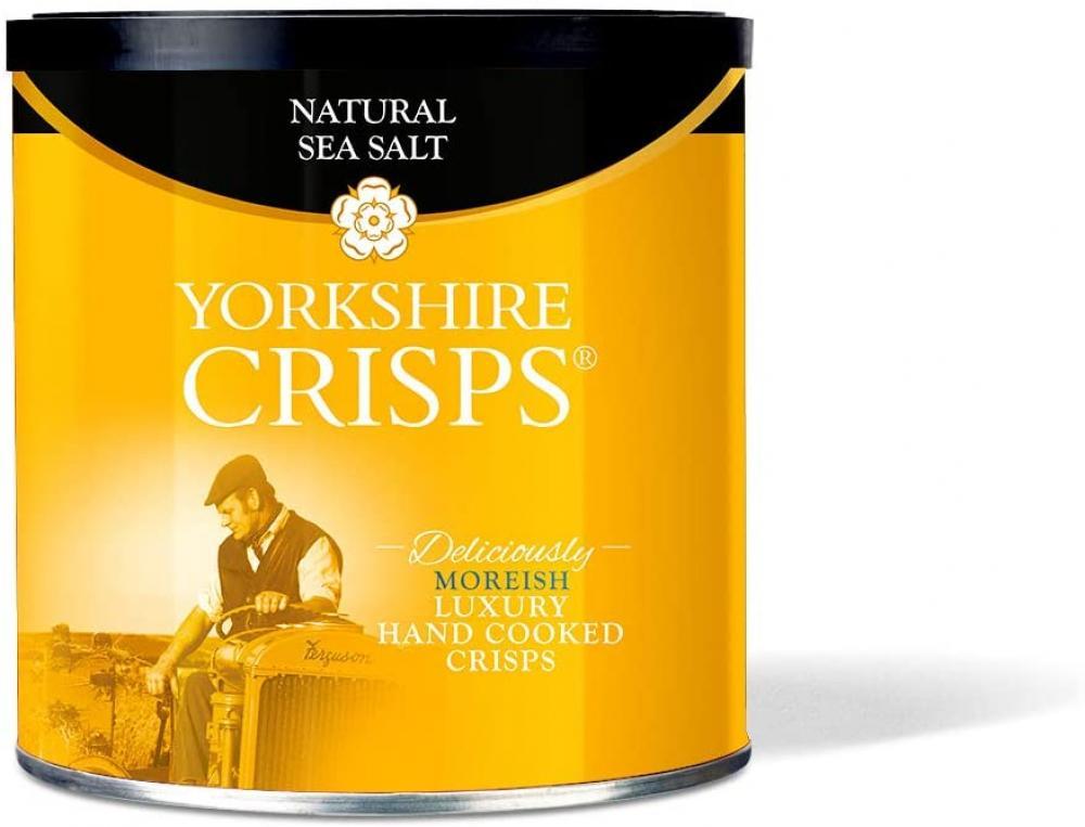 Yorkshire Crisps Natural Sea Salt 100g