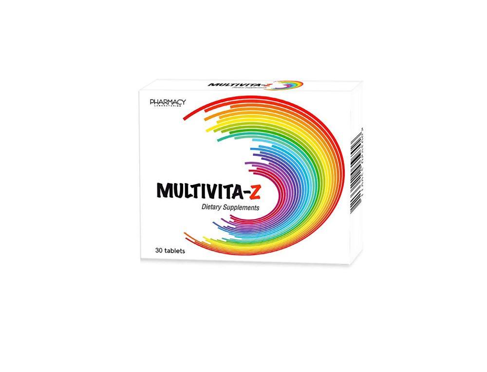 Pharmacy Laboratories Multivita Z Dietary Supplements 30 Tablets