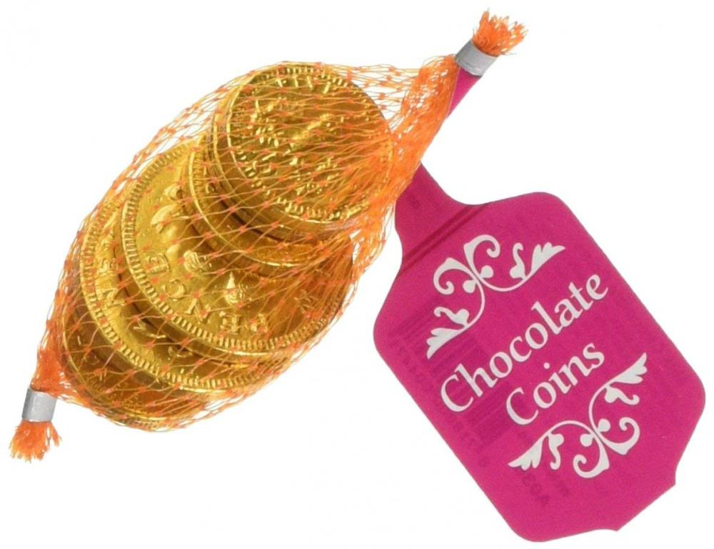 Treasure Island Sweets Chocolate Coins Bag 25g