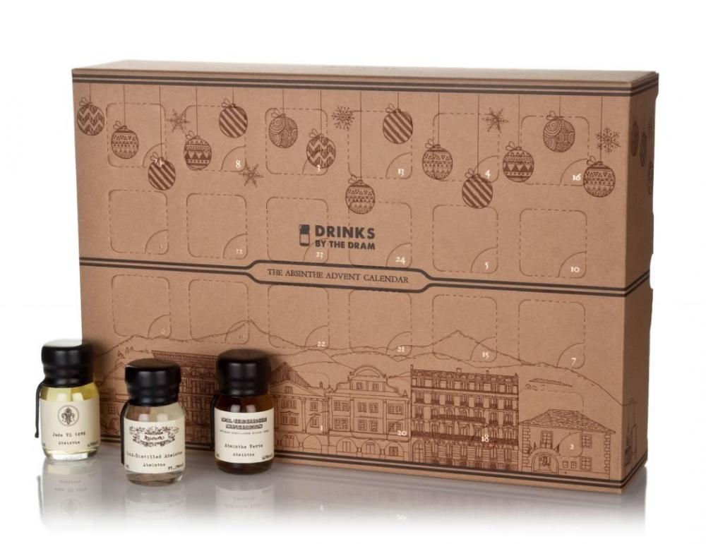 Drinks By The Dram The Absinthe Advent Calendar 24x3cl