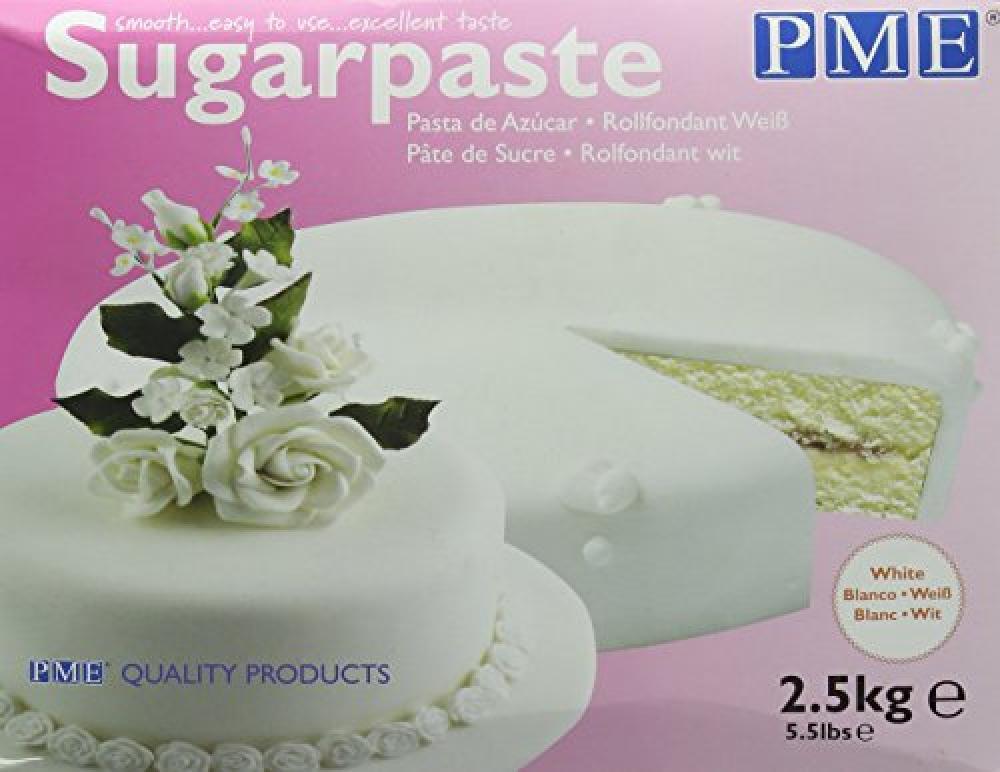 PME Ready to Use Sugarpaste White 2500g Damaged Box