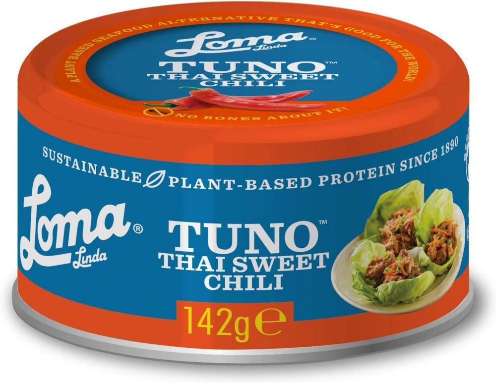 Loma Linda Vegan Tuna Thai Sweet Chilli Tin 142g
