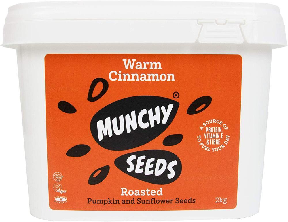 Munchy Seeds Warm Cinnamon Sunflower Pumpkin Protein Snack 2kg