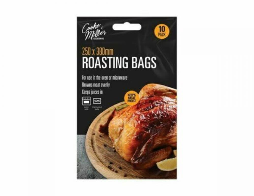 Cooke and Miller Roasting Bags 250 x 380mm 10 Pack