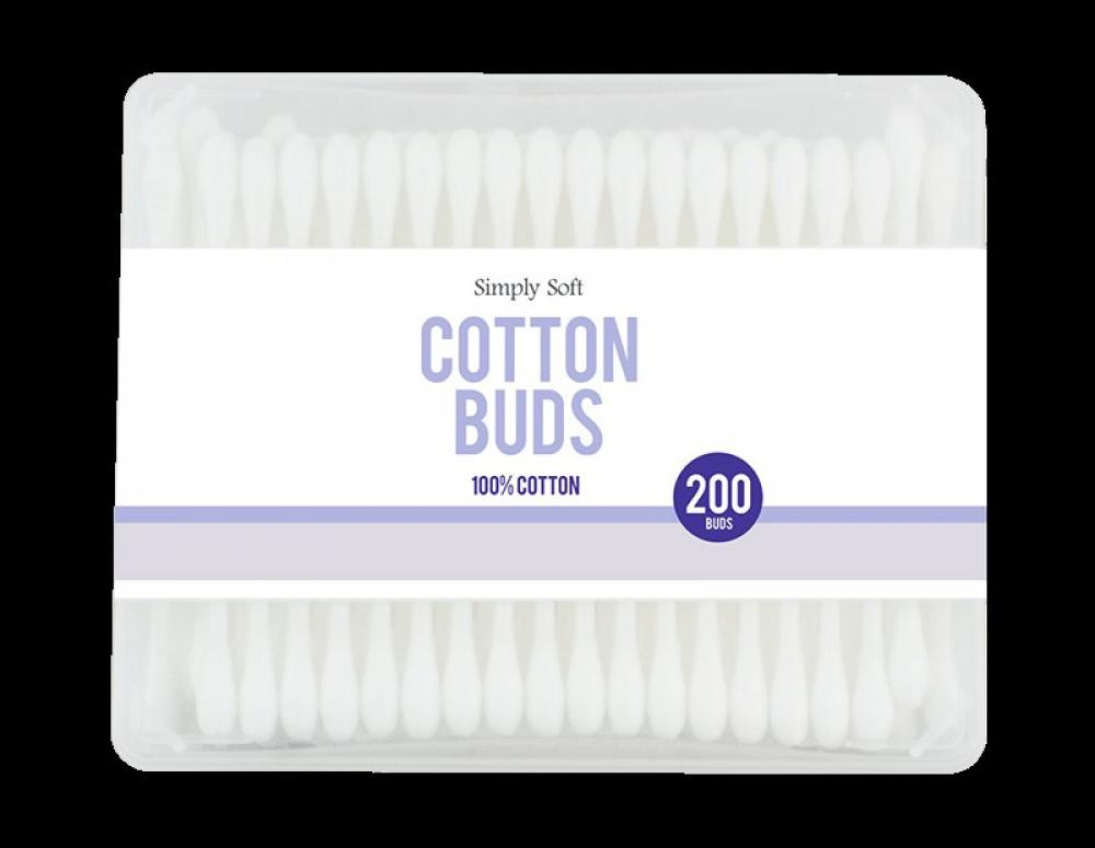 Simply Soft Cotton Buds 200 pack