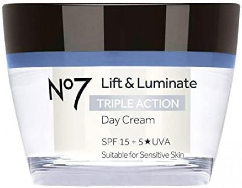 Boots No7 Lift and Luminate TRIPLE ACTION Day Cream 50ml