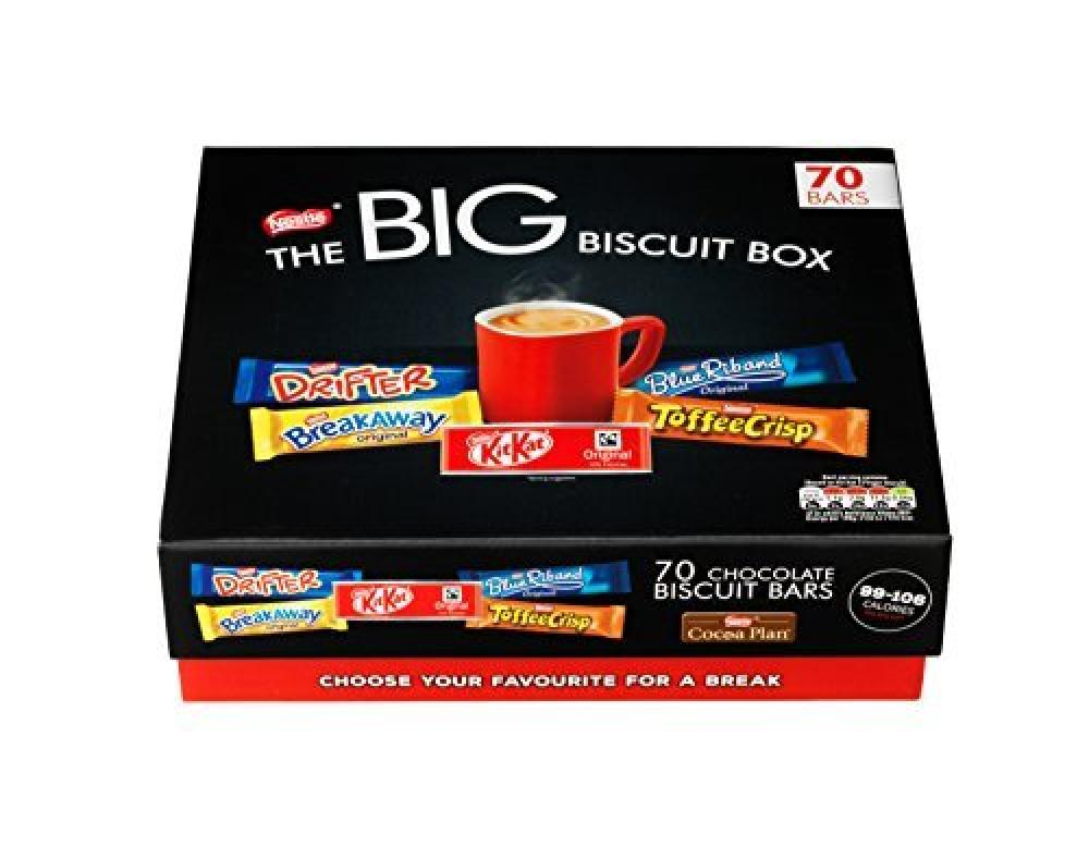 Nestle The BIG Biscuit Box 70 Bars 1730g