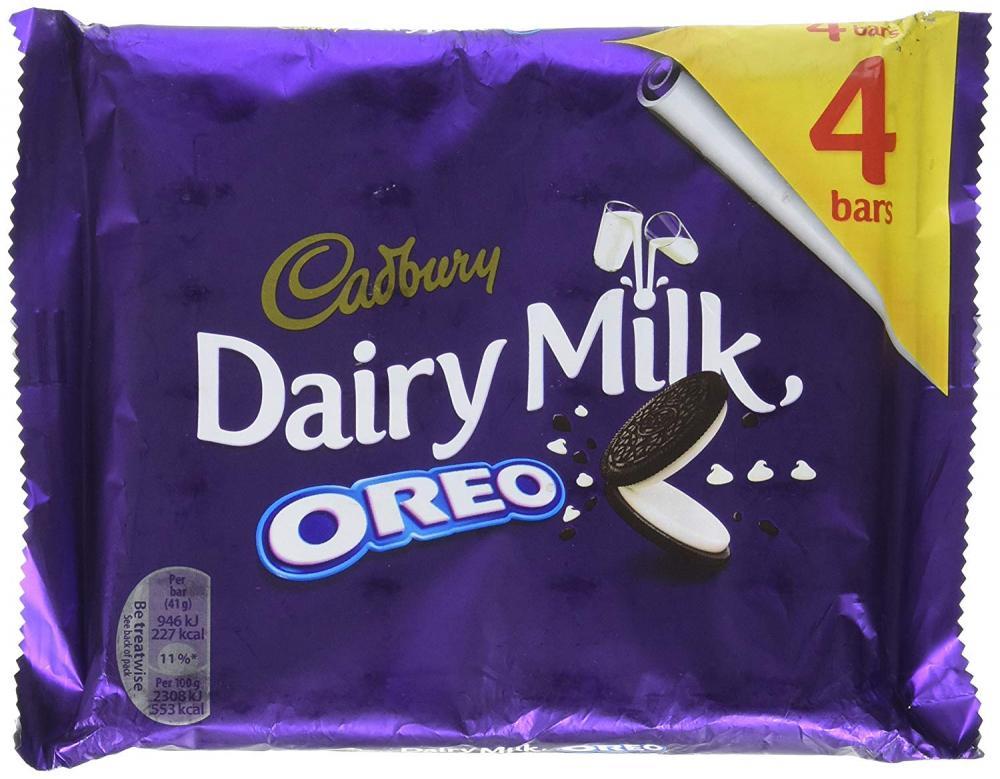 Cadbury Dairy Milk Oreo 41g x 4