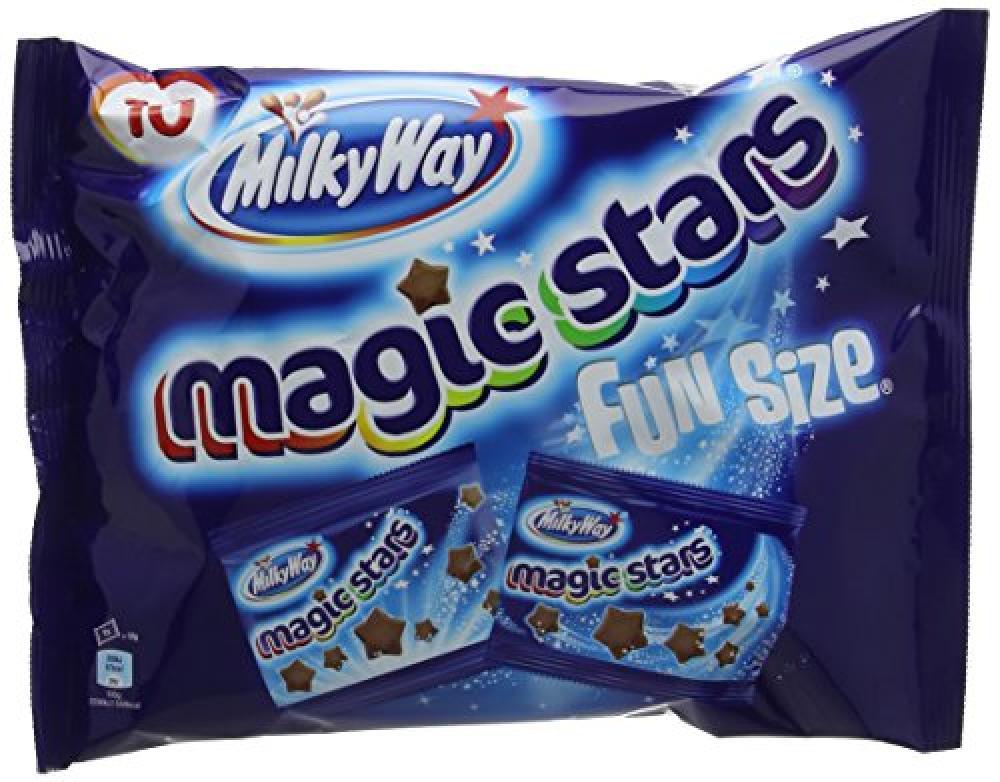 MilkyWay Magic Stars Funsize Bag 120 g